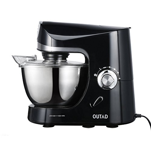 Best Price OUTAD Stand Mixer 120V/650W 4.75-Qt Bowl 10 Speed Kitchen Electric Mixer Machine (Stand M...