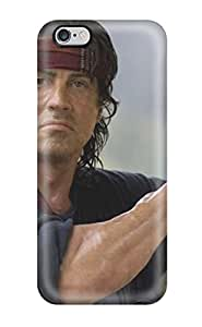Iphone 6 Plus Sylvester Stallone Print High Quality Tpu Gel Frame Case Cover