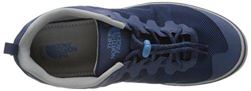The North Face Base Camp Flow, Zapatillas de Senderismo para Hombre Azul (Shady Blue/Cendre Blue)