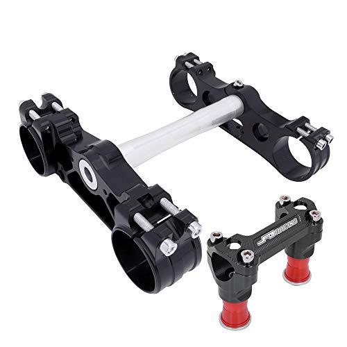 AnXin Triple Tree Clamps Complete Stem Handlebar Riser For Husqvarna 701 Enduro/Supermoto FC250/350/450 TC125 TC250 FX350/450 FE250/350/450/501 TE150/250/300 KTM -