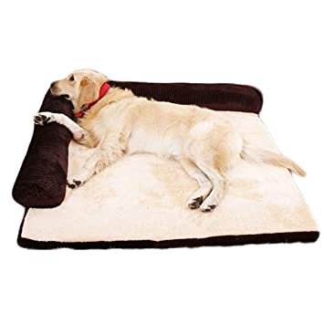 QNMM Sofá Cama para Mascotas Perro Gato Sofá Cómodo Alfombra Extraíble Y Lavable Cama para Perros Pequeños Y Medianos para Mascotas Adecuado para Mascotas ...