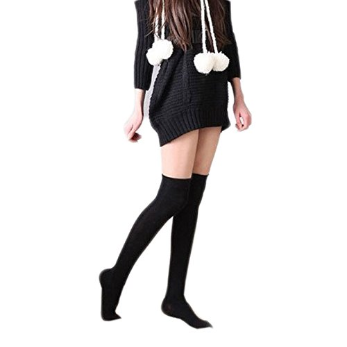 Malltop-Over-Knee-Thigh-High-Socks-Sexy-Women-Cotton-Thin-Leg-Stocking