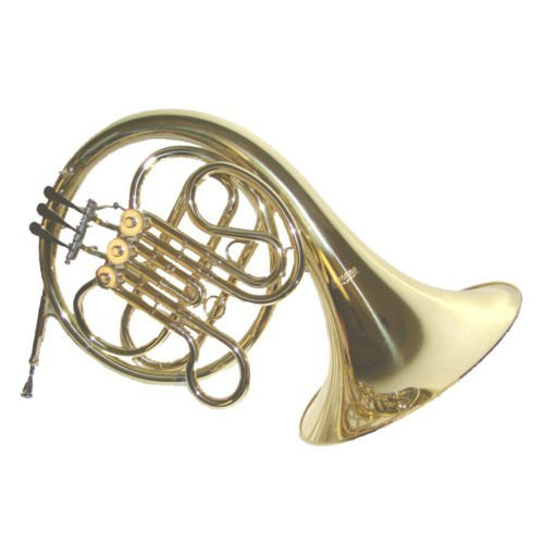 Merano F Key 3 Single French Horn with Case, Mouth Piece,A pair of white gloves;Soft Cleaning Cloth+Metro Tuner+Music Stand by Merano