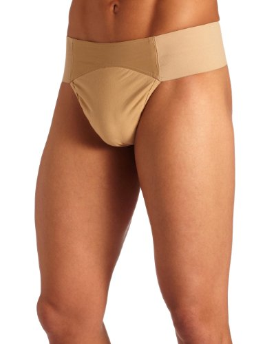 Capezio Men's Quilted Cotton Panel Thong - Quilted Natural Shopping Results