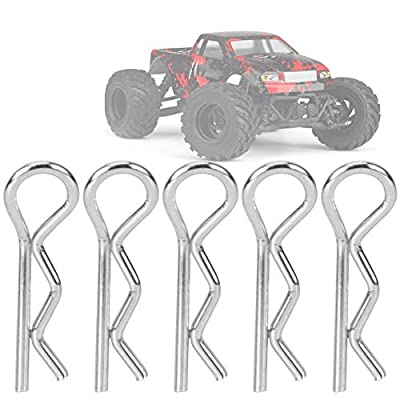 T best 16pcs Body Shell Pin, RC Car Body Shell Clips Pin R-Shaped RC Car Clip 1/18 Model Car Spare Part Fit for HS 18301 18302 18311 18312 1/18 RC Car : Sports & Outdoors