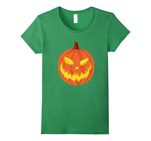 Winning Halloween Costumes For Women (Womens Jack o Lantern Halloween T-Shirt Costume Contest Winning T XL Grass)
