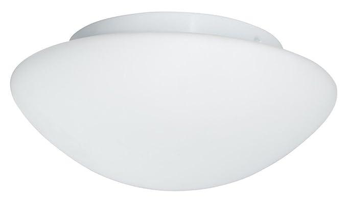 Plafoniere A Soffitto Per Bagno : Plafoniera da soffitto illuminazione moderna in vetro bianco