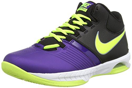 Nike Men's Air Visi Pro V, COURT PURPLE/VOLT-BLACK, 9 M US