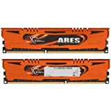 16GB G.Skill DDR3 PC3-12800 1600MHz Ares Series Low Profile (9-9-9) Quad Channel kit