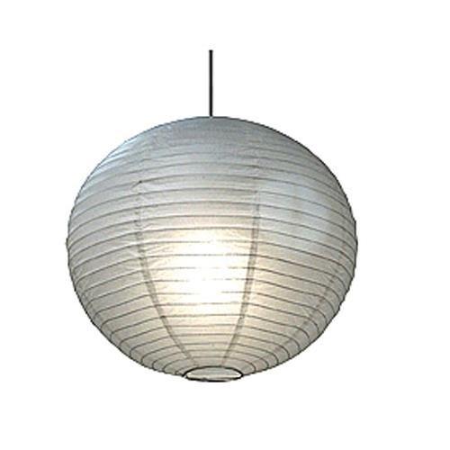 球体ペーパーランタン うね織り模様 ぶらさげるのに(電球は別売り) 18 Inch 18EVP-WH 1 B0038QK8JG 18 Inch|ホワイト ホワイト 18 Inch