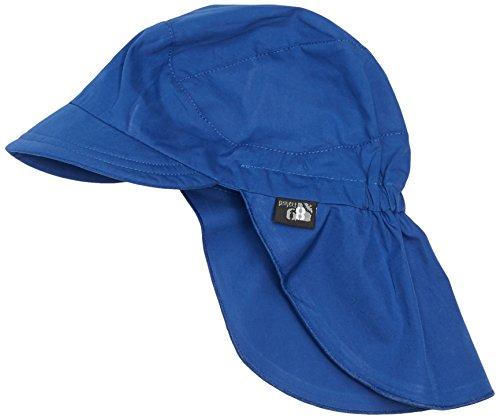 Sterntaler Jungen Mütze Schirmmütze m. Nackenschutz, Gr. 49 cm, Blau (blau 356)