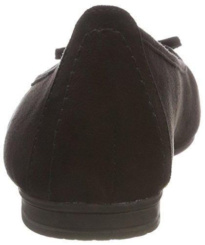22164 Femme 21 001 black Softline Noir Ballerines fwOqvOZ
