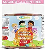 Sugar Free Kids Probiotic Gummies - Tasty & Easy to Swallow Probiotics for Kids - Family Pack Toddler Probiotics, 5 Billion CFU