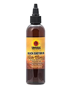 Tropic Isle Living Tropic isle living jamaican black castor oil hair therapy 4oz w/free nail file, 4.0 Ounce