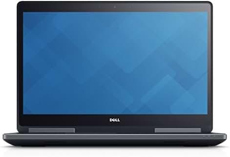 DELL PRECISION M7710 UHD 4K XEON E3-1505M v5 64GB DDR4 RAM 2TB SSD + 2TB HDD QUADRO M4000M 4GB WIN 10 PRO (Certified Refurbished)