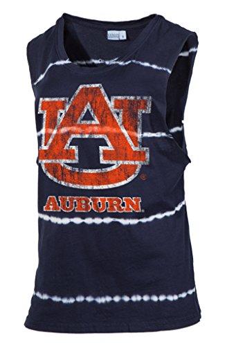 Official NCAA Auburn University Tigers Aubie Tiger WAR EAGLE! Women's Tie Dye Bamboo Muscle - Gear University Auburn