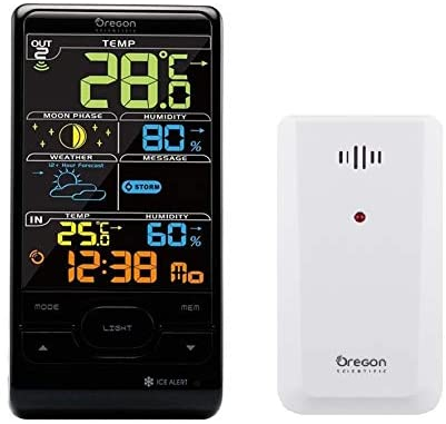 Oregon Scientific BAR208SX Advanced Wireless Weather Station with Humidity