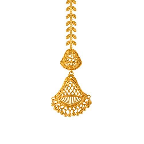 P.C. Chandra Jewellers 22KT Yellow Gold Maang Tika for Women