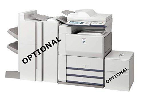 - Refurbished Sharp MX-620 Tabloid-size Monochrome Multifunction Printer - Copy, Print, Scan, 2 Trays, Cabinet, Auto Duplex, 62 ppm (Certified Refurbished)