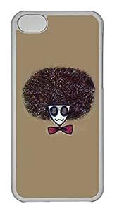taoyix diy Personalized Custom Creative Head for iPhone 5C PC Transparent Case