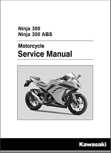 (Kawasaki 2013-2017 Ninja 300 Ninja 300 Se Ex300a Service Manual 99924-1460-05 New Oem )