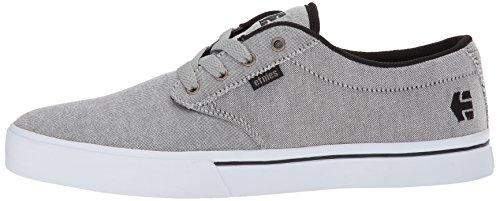 Pour 2 554 Silver Eco Chaussures black Gris Charcoal De Homme Etonies Jameson Skateboard IxTnqwH0BR