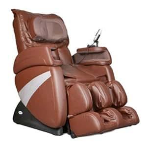 Cozzia EC363E Shiatsu Massage Zero Gravity Chair - Brown