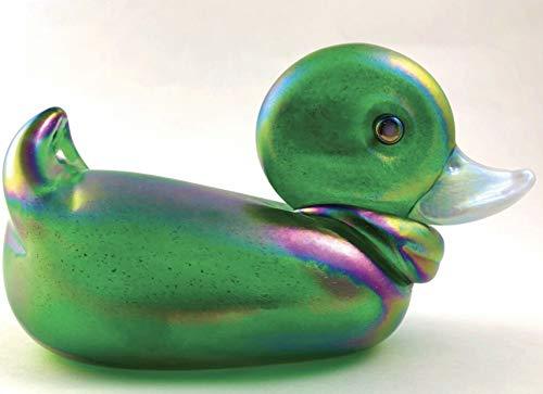 Glass Eye Studio Duck Collection Handblown Glass Figure (Quincy)