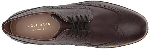 Cole Haan Hombres Original Grand Shortwing Oxford Java / Negro