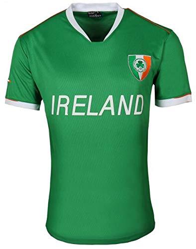 Malham USA Ireland Breathable Soccer Jersey (Green, X-Large) - Irish Shamrock Green T-shirt