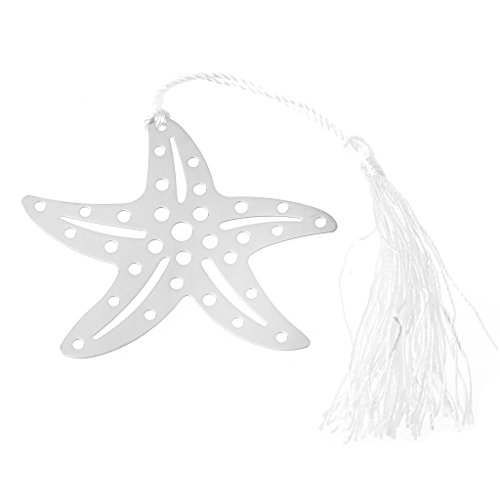 (ShapeW Hollow Starfish Design Bookmark Wedding Party Gifts Party Favors Metal Decor New)