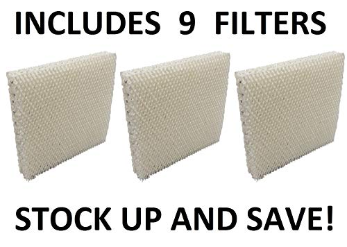 Humidifier Filter for Honeywell HAC-801 HAC801 HCM-3060 HCM-88C - 9 Pack