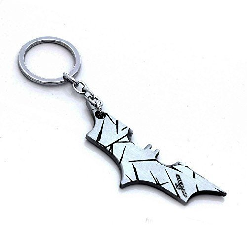 [OK-STORE Zinc Alloy Metal Bat Simbol Mask Shape Dart Keychain] (Batman Costumes Arkham Knight)