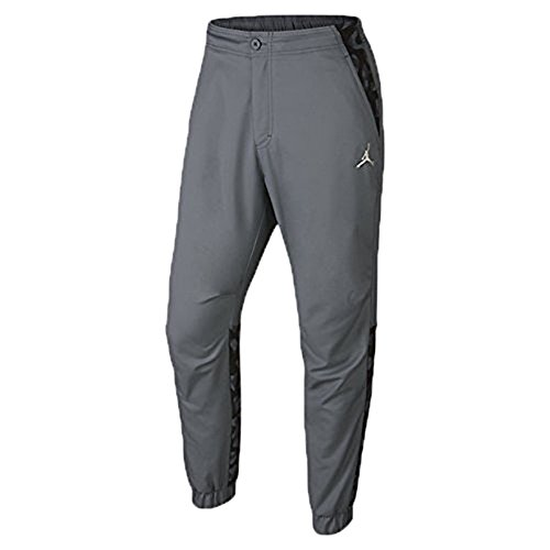 Jordan AJ City Men's Pant Grey/Black 706723-065 (Size 34) by Jordan