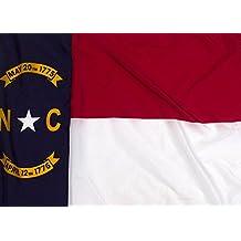 3x5ft North Carolina Flag - Highest Quality Outdoor Nylon