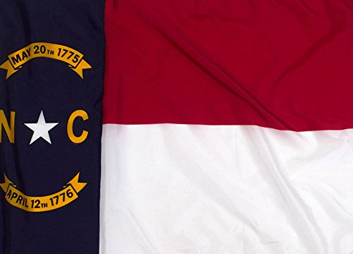 Federal Flags 3x5ft North Carolina Flag Outdoor Nylon - North Carolina Outdoor State Flag