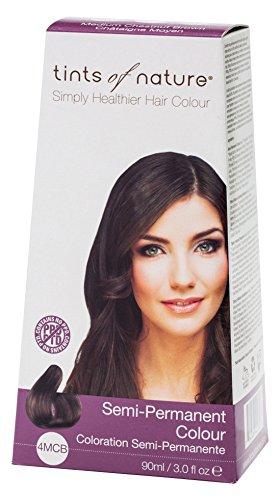 SemiPermanent Colour 4MCB (3 Fluid Ounces) (Tints Of Nature Semi Permanent Hair Color)