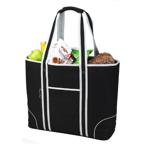 Picnic at Ascot  Extra Large Insulated Cooler Bag - 30 Can Tote - (Large Polyester Tote Bag)