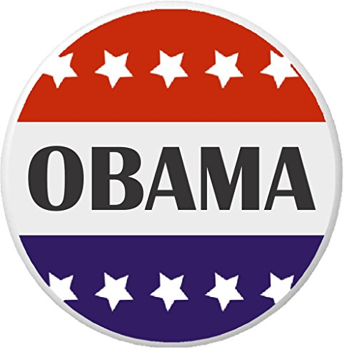 Obama Red White Blue Stars 2.25