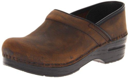 Dansko Professional Narrow Clog,Antique Brown,42 EU/12 N US by Dansko