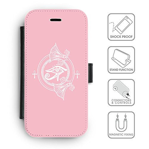 Flip PU Leather Wallet Case avec des fentes de carte de crédit // Q09870630 Religion 27 Rose // apple iPhone 6s 2015