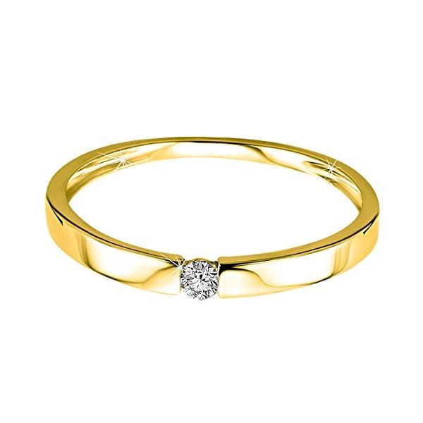 Orovi anillo de señora solitario 0.05 Ct diamantes en oro blanco/oro amarillo de 9k ley 375 Anillo Hecho a Mano en… Orovi anillo de señora solitario 0.05 Ct diamantes en oro blanco/oro amarillo de 9k ley 375 Anillo Hecho a Mano en… Orovi anillo de señora solitario 0.05 Ct diamantes en oro blanco/oro amarillo de 9k ley 375 Anillo Hecho a Mano en…