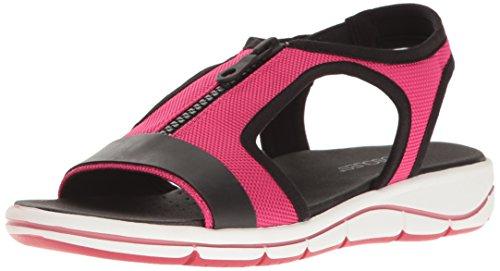 Rosado Pink Mujer para Sandalias Aerosoles Planas Fabric WqpHTI