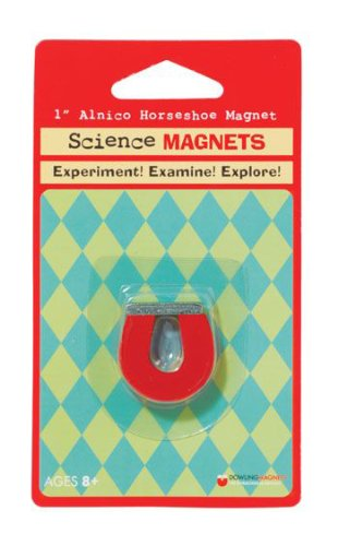7 Pack Dowling Magnets Science Magnet 1In Alnico Horseshoe