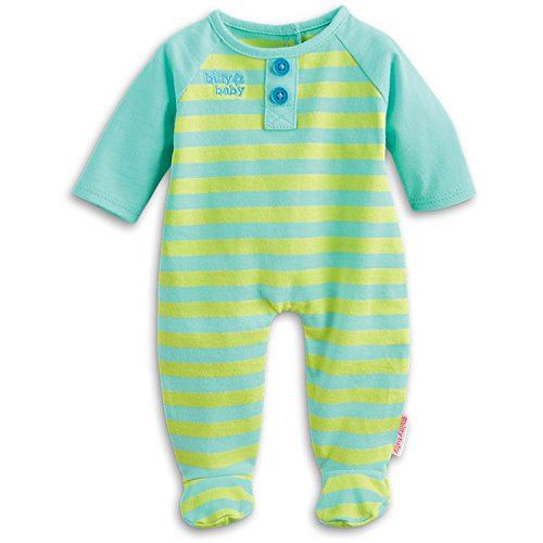 American Girl Bitty Baby Stripey Sleeper Outfit for Dolls