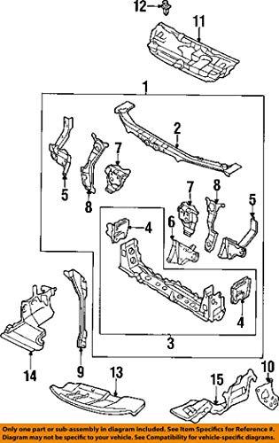 BRACKET L FBUMPER SHR by Mazda (Image #2)