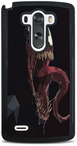 Black Polygon Comic Book Villain Black Hardshell Case for LG G3 by egeek amz -