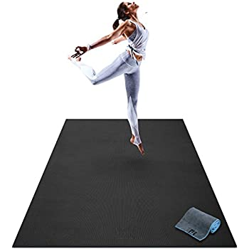Amazon.com : Premium Large Exercise Mat - 6' x 4' x 1/4