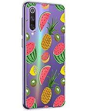 Oihxse Funda Xiaomi Mi A2 Lite, Ultra Delgado Transparente TPU Silicona Case Suave Claro Elegante Creativa Patrón Bumper Carcasa Anti-Arañazos Anti-Choque Protección Caso Cover (A4)