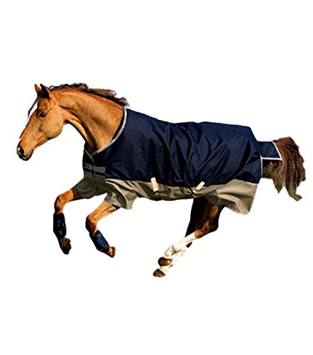 Horseware Amigo Blankets Mio Lite Turnout Sheet 75 Navy/Tan